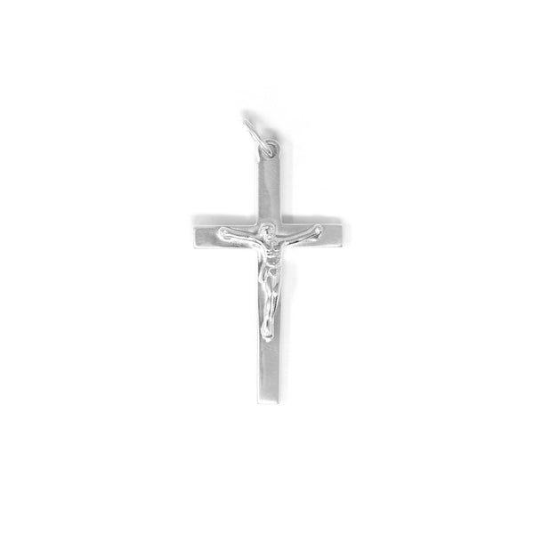 Men's Edit Small Crucifix - Pendant Only - SayItWithDiamonds.com