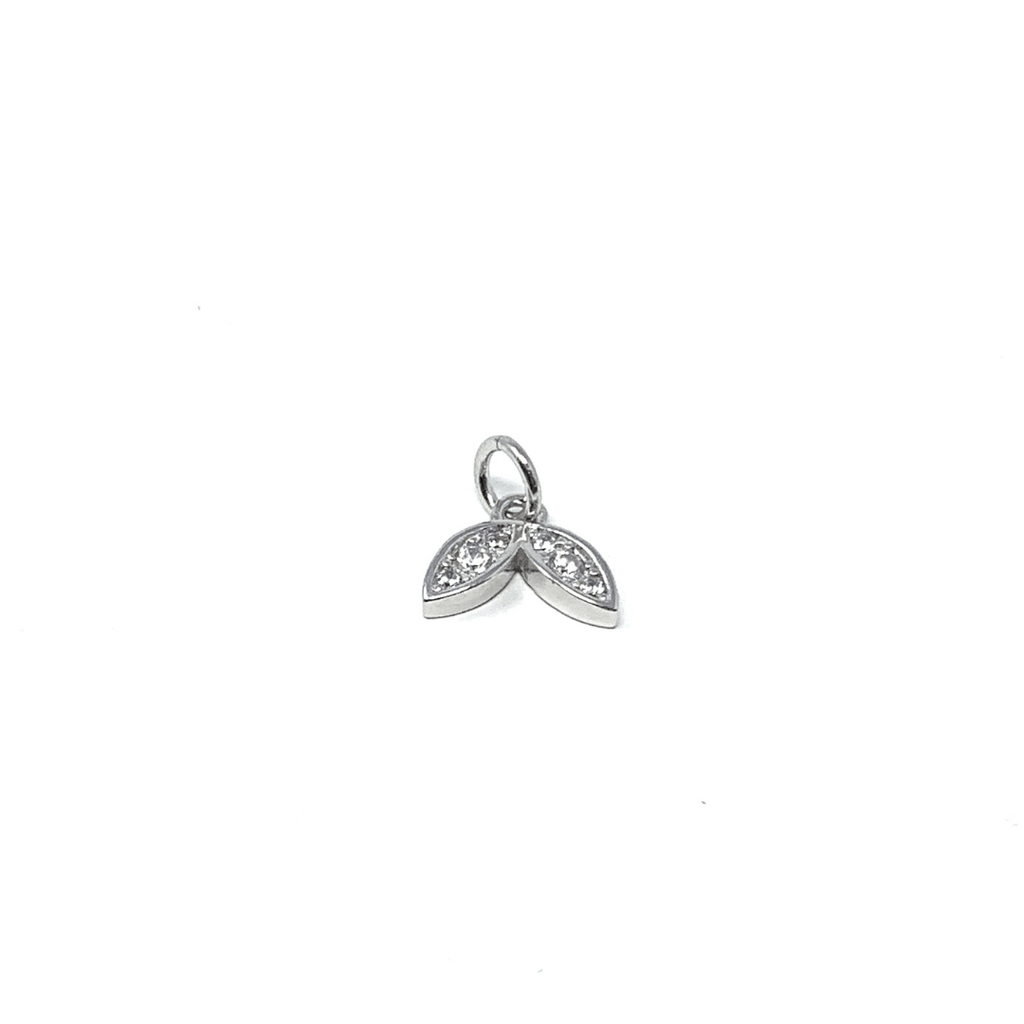 Mini Sterling Silver Winged Charm - SayItWithDiamonds.com