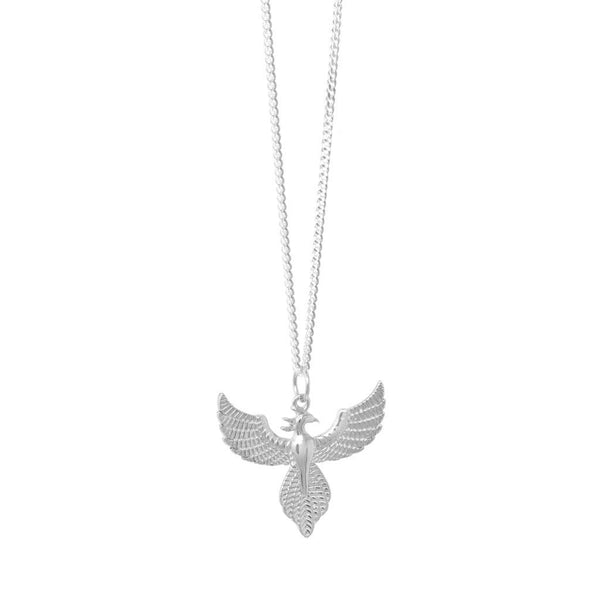 New Beginnings Sterling Silver Necklace - SayItWithDiamonds.com