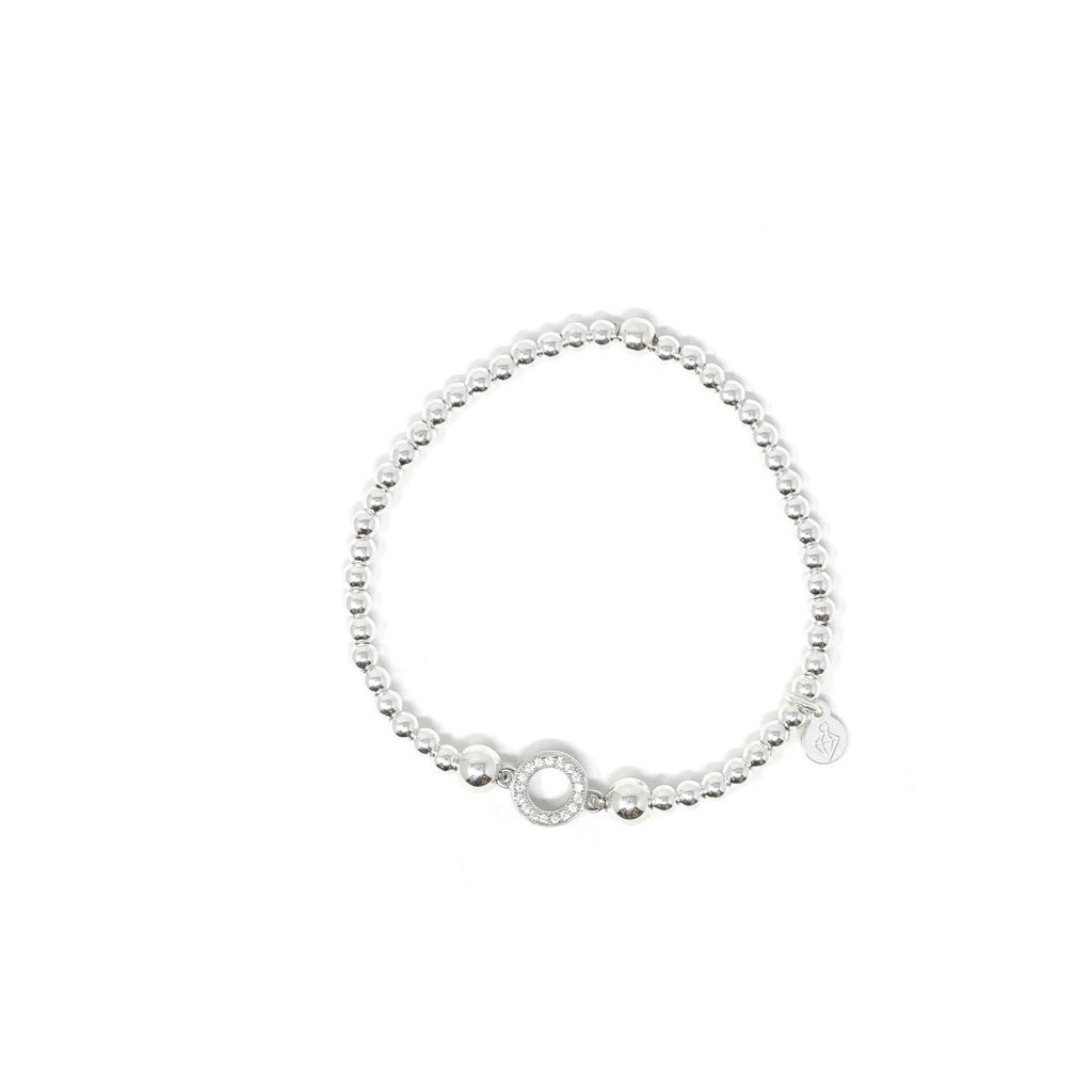 RBB Sterling Silver Circle Of Life Bracelet - SayItWithDiamonds.com