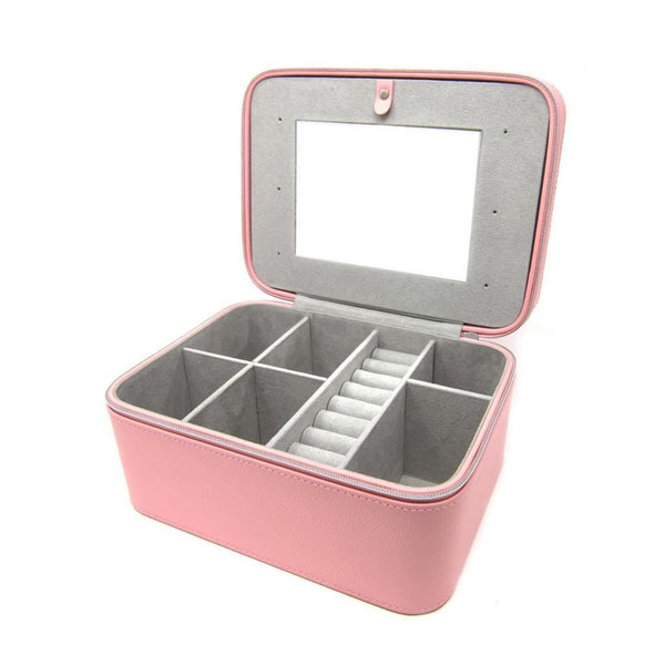 SIWD NEW Signature Pink Jewellery Box - SayItWithDiamonds.com