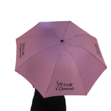 SIWD pink umbrella - The perfect bag size - SayItWithDiamonds.com