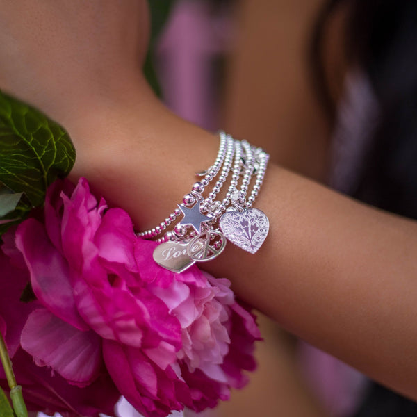 Sterling Silver - Dainty Stacker - SayItWithDiamonds.com
