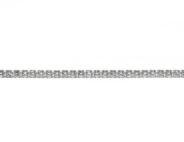 Sterling Silver Tennis Bracelet - Gift Box Included - SayItWithDiamonds.com