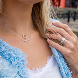 The Love Circle Necklace - SayItWithDiamonds.com