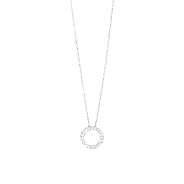 The Love Circle Necklace - 9ct Gold - SayItWithDiamonds.com