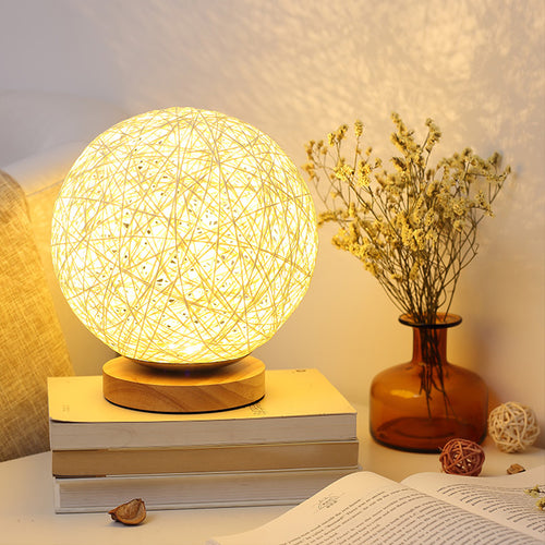 Wood Multi-color Table Lamps Sleeping Night Light - Targen