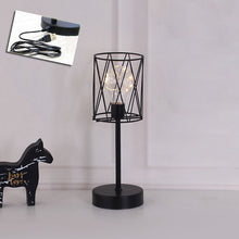 Load image into Gallery viewer, Lamp Diamond Iron Vintage Home Decor Table Figurines USB Light - Targen