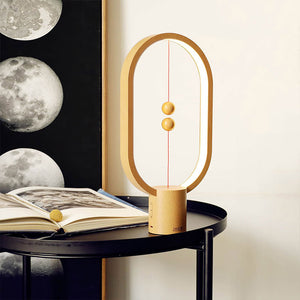 Balance Lamp Dimmable Warm Eye-Care Magnetic Desk Night Light