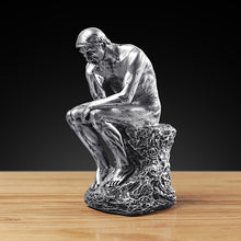 Load image into Gallery viewer, Resin Thinker Character Sculpture Creative Nordic Decoration - Targen
