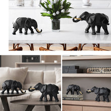 Load image into Gallery viewer, Elephant Figurine 2/set Resin For Home Office Hotel Decoration - Targen