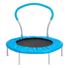 Load image into Gallery viewer, 36 Inch Mini Trampoline With Handle (PU) Safety Trampoline For Kids