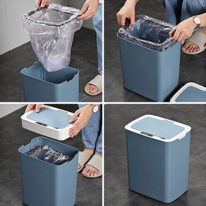 Large Capacity Automatic Sensing Trash Can