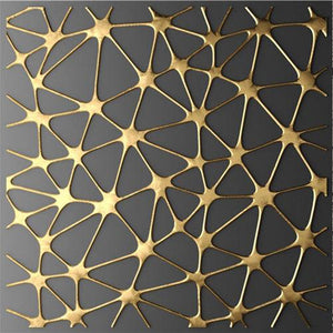 Abstract Minimalist Gold Black Nordic Canvas Art Painting Home Decor - Targen