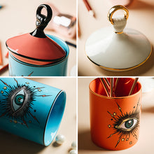 Load image into Gallery viewer, Creative Big Eye Storage Jar