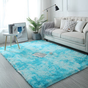 Modern Nordic Tie-dye Gradient Carpet For Bedroom Living Room - Targen