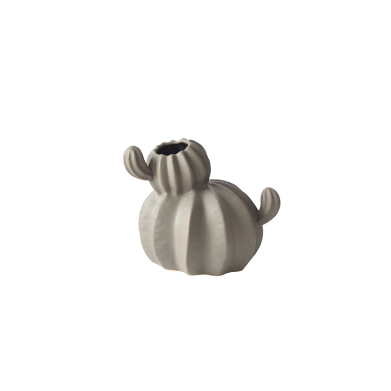 Targen Ceramic Cactus Shaped Vase Flower Pot