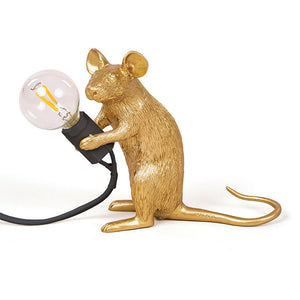 Creative Resin Mouse Table Light