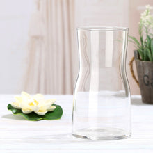 Load image into Gallery viewer, Simple Small Glass Gradient Wide Mouth Flower Vase - Targen