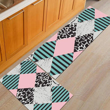 Load image into Gallery viewer, Modern Geometric Kitchen Mat Anti-Slip Bathroom Carpet Home - Targen