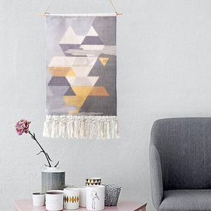 Handmade Tapestry Macrame Retro Nordic  Handcrafted Room Decor - Targen