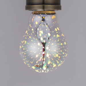 3D Decoration LED Light Bulb with E27 Base