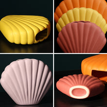 Load image into Gallery viewer, Creative Cute Ceramic Seashell Vase