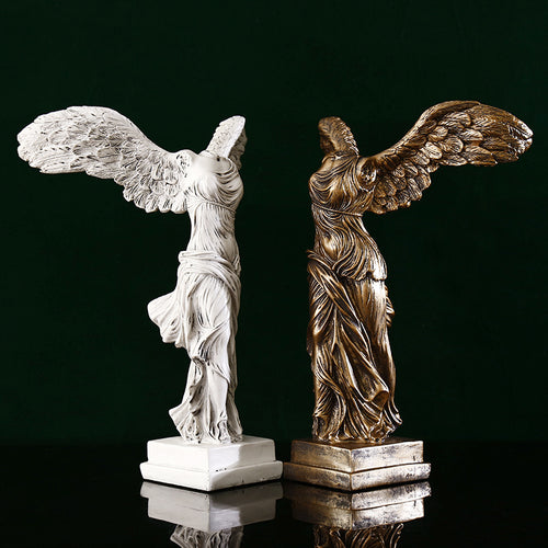 Retro Victory Goddess Figures Resin Crafts Sculpture - Targen