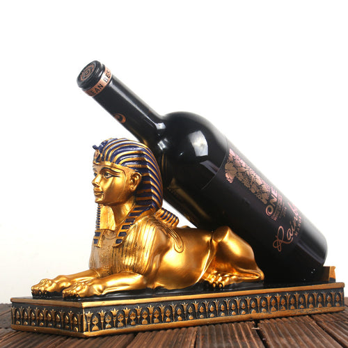 Egyptian Resin Wine Rack Creative Wine Bottle Holder - Targen