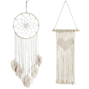 Wall Hanging Tapestries New Handmade Woven Macrame Wall Decor - Targen