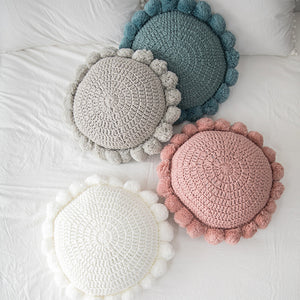 Round Throw Pillow Sofa Bed Chair Couch Cushion