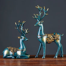 Load image into Gallery viewer, Deer Figurine Statue European Style Crafts Creative Sculpture - Targen