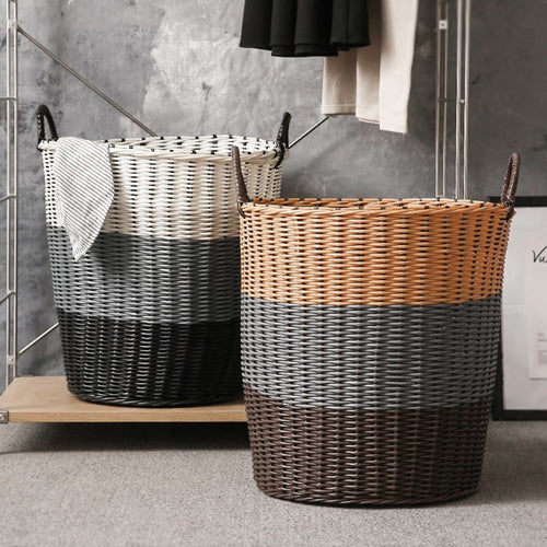 Laundry Storage Basket Washing Dirty Clothes Basket Home Sundries Storage - Targen