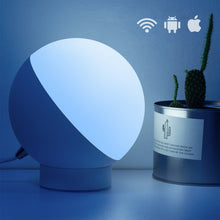 Load image into Gallery viewer, Table Lamp WiFi Voice-Controlled Night Light Intelligent Color-Adjustable Eye Protection Lamp - Targen
