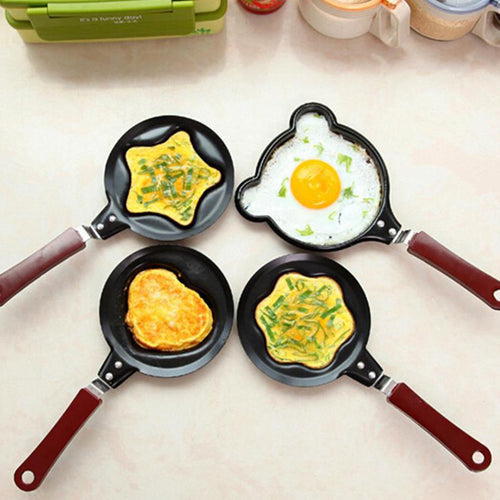 Mini Egg Mould Pans Cute Shaped Stainless Cooking Tools - Targen