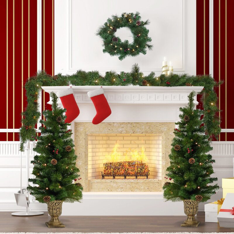 4-Piece Christmas Tree Set