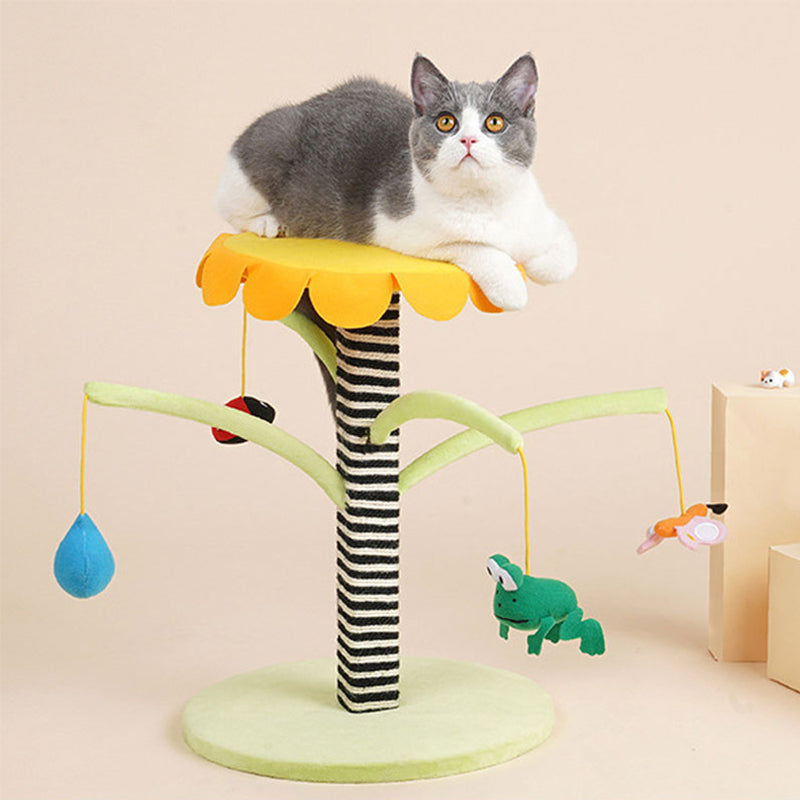 Small Scratching Post Cat Jumping Platform Cat Toy