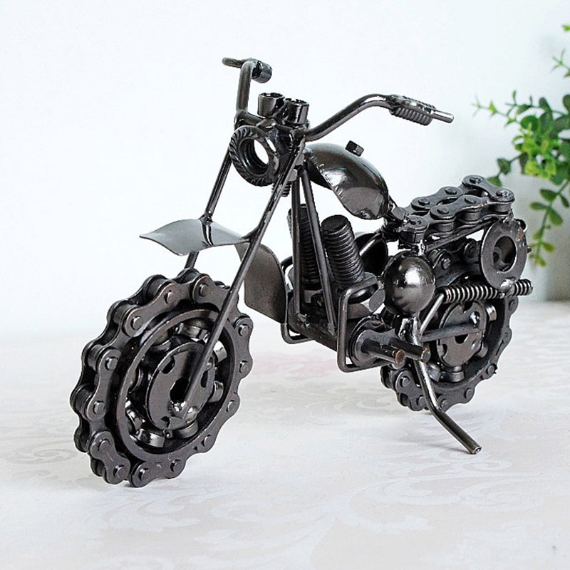 Wrought Iron Motorcycle Model Creative Handicrafts Home Decoration - Targen