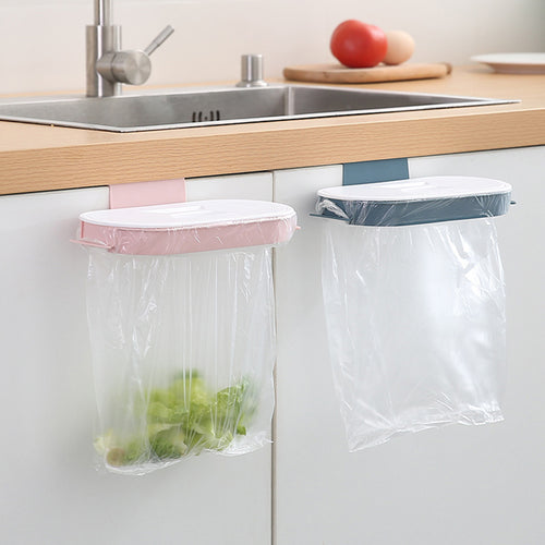 Portable compact Garbage Bag Holder Cupboard Drawer Storage Rack - Targen