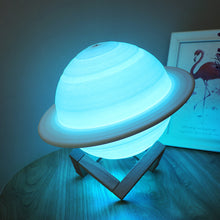 Load image into Gallery viewer, Creative 3D Print Saturn Lamp Smart Home LED Night Light - Targen