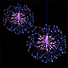 Load image into Gallery viewer, Outdoor Hanging Starburst String Light Christmas Hanging Light - Targen