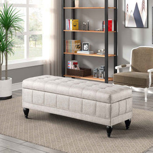 Unique Upholstered Storage Bench - Targen