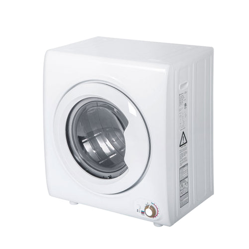 Laundry Dryer Compact Tumble Dryer with 1400W Drying Power - Targen