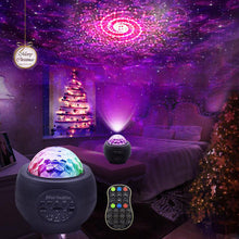 Load image into Gallery viewer, RGB Star Projector LED Night Light for Party Christmas Halloween
