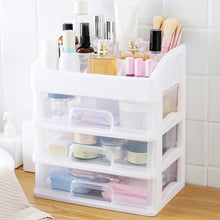 Load image into Gallery viewer, Makeup Brush Holde Organizer Drawers Plastic Cosmetic Storage Box - Targen