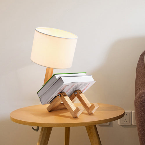 Robot Shape Table Lamp Flexible Adjustable Folding Reading Light - Targen