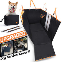 Load image into Gallery viewer, Dog Back Seat Cover Protector Waterproof Scratchproof Against Dirt and Pet Fur