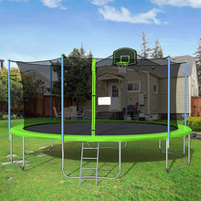 Load image into Gallery viewer, 16FT Yard Trampoline Outdoor Basketball Play Trampoline For Fun