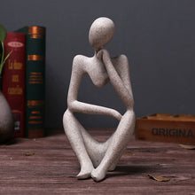 Load image into Gallery viewer, Thinker People Statues Creative Abstract Resin Sculptures - Targen