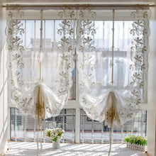 Load image into Gallery viewer, Lace Curtain European Iris Tectorum Wave Voile - Targen